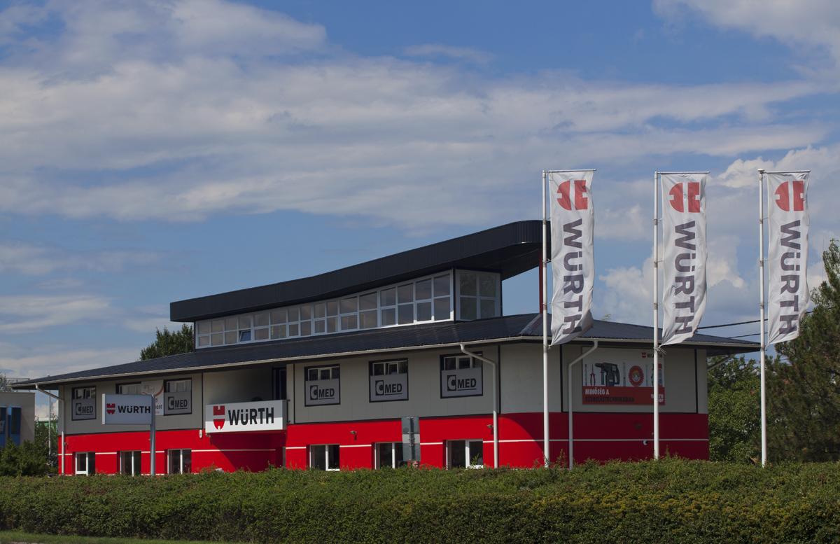 A C MED épülete