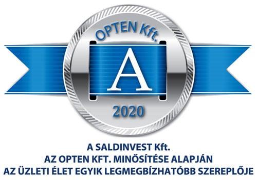 A minősítés Saldinvest Kft.